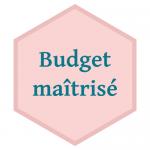 Budget maîtrisé
